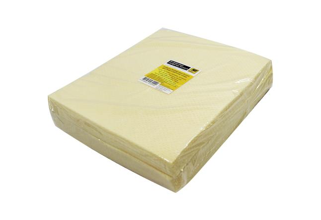 Салфетки Hi-Black безворсовые Stretch для сбора и удалениятонера 100шт/уп, цвет желтый