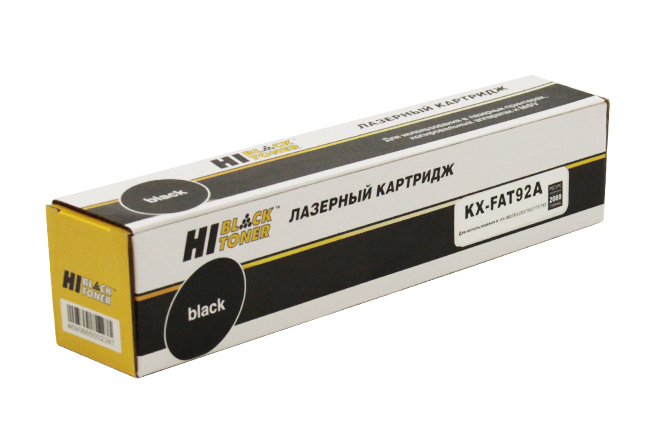 Тонер-картридж Hi-Black (HB-KX-FAT92A) для PanasonicKX-MB263/283/763/773/783, 2K