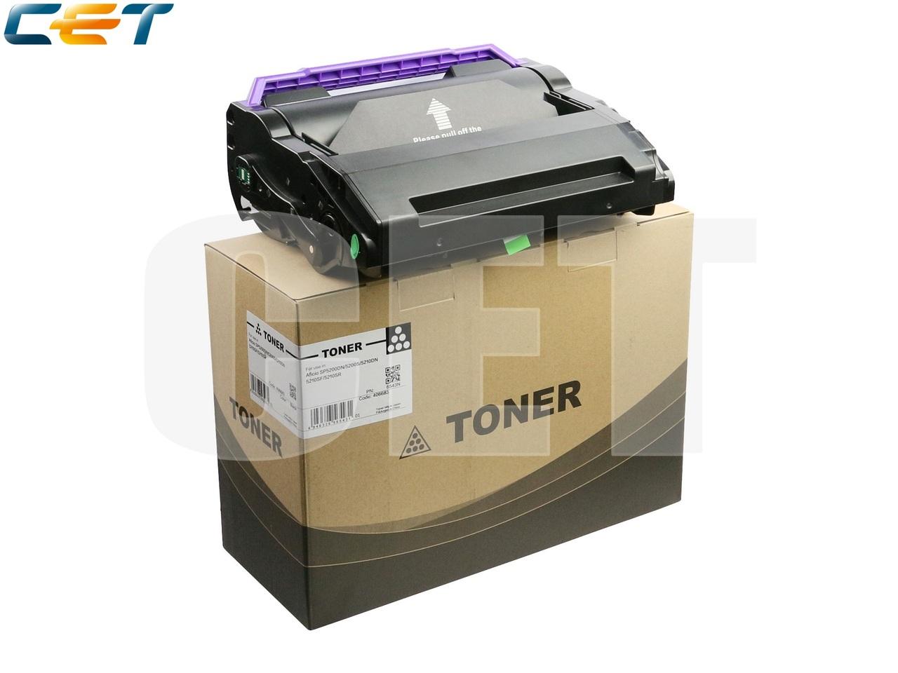 Тонер-картридж 406685, 821229 для RICOH AficioSP5200DN/SP5210DN (CET), (WW), 25000 стр., CET6543N