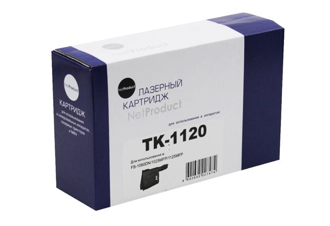 Тонер-картридж NetProduct (N-TK-1120) для KyoceraFS-1060DN/1025MFP/1125MFP, 3K