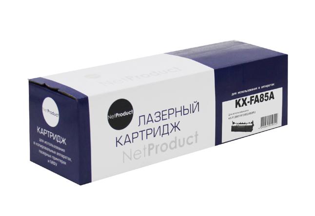 Тонер-картридж NetProduct (N-KX-FA85A) для PanasonicKX-FLB801/813/853/883RU, 5K