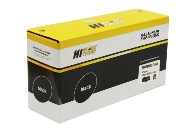 Картридж Hi-Black (HB-108R00908) для Xerox Phaser3140/3155/3160, 1,5K