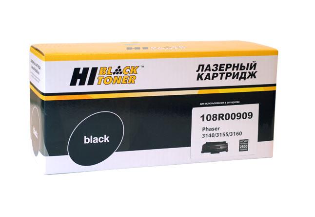 Картридж Hi-Black (HB-108R00909) для Xerox Phaser3140/3155/3160, 2,5K