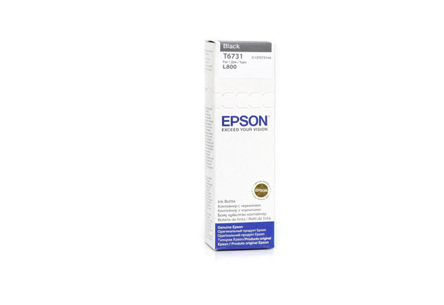 Чернила Epson L800/L1800/L810/L850 (О) C13T67314A, black,70ml