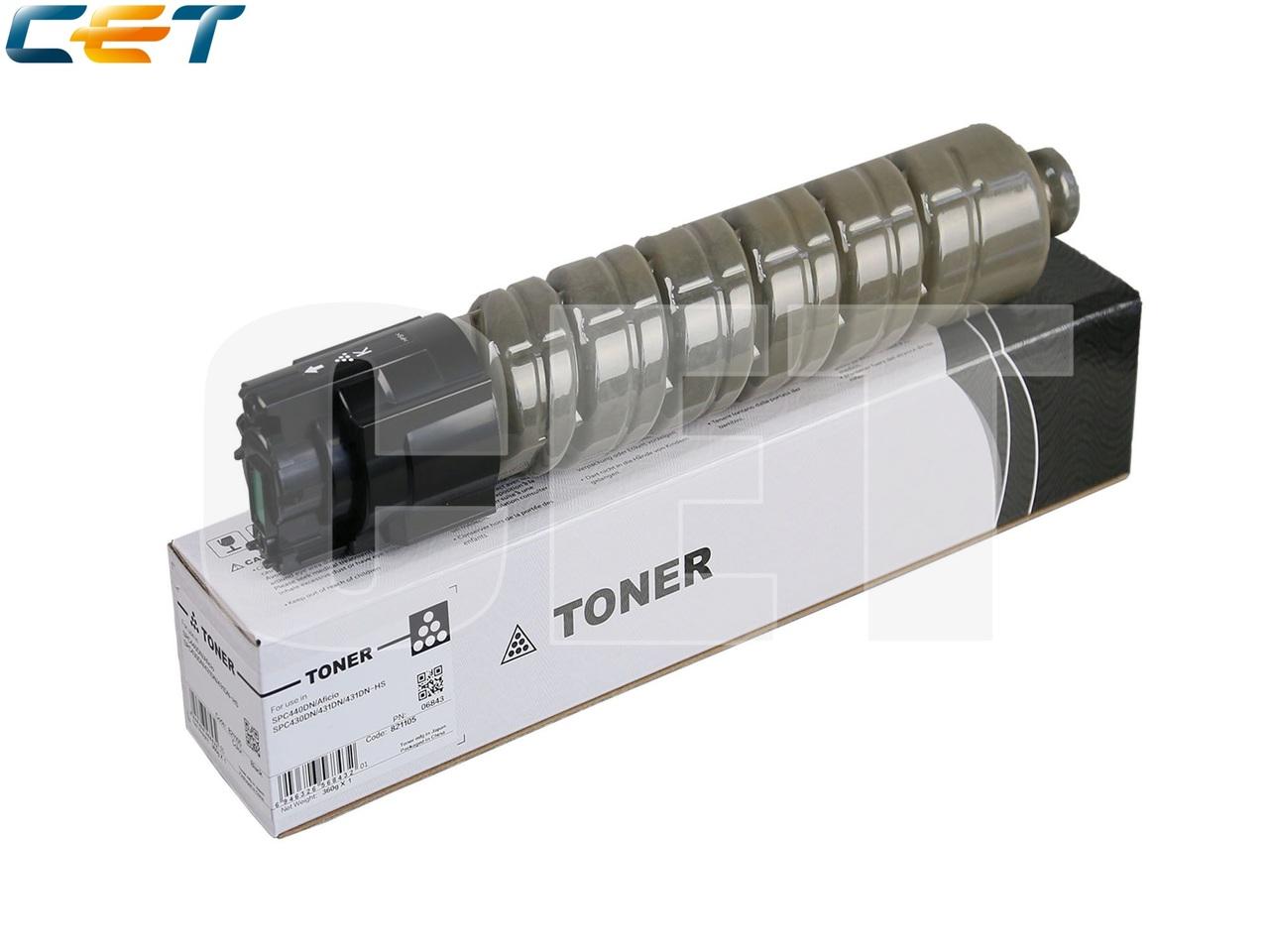 Тонер-картридж 821094 для RICOH Aficio SPC430DN/431DN(CET) Black, (WW), 360г, 24000 стр., CET6843
