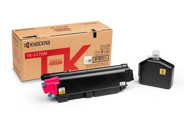 Тонер-картридж TK-5270M KyoceraP6230cdn/M6230cidn/M6630c, 6К (О) малиновый 1T02TVBNL0