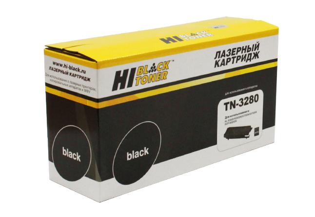 Тонер-картридж Hi-Black (HB-TN-3280) для BrotherHL-5340/5350/5370/5380//DCP8070D, 8K