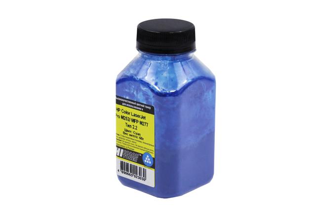 Тонер Hi-Black для HP CLJ Pro M252/MFP M277, Химический,Тип 2.2, C, 60 г, банка