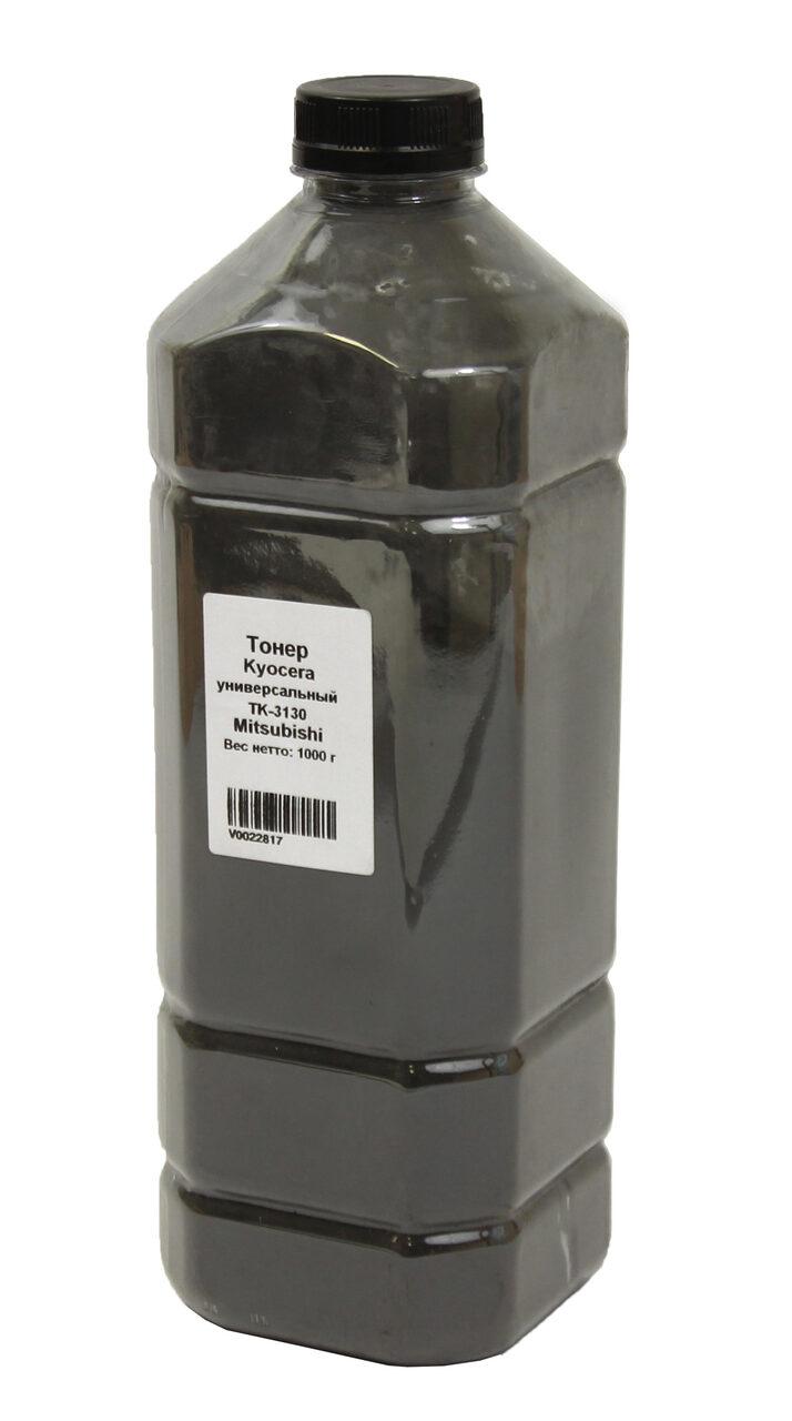 Тонер Delacamp Универсальный для Kyocera TK-3130(UT19F5A), Bk, 1 кг, канистра