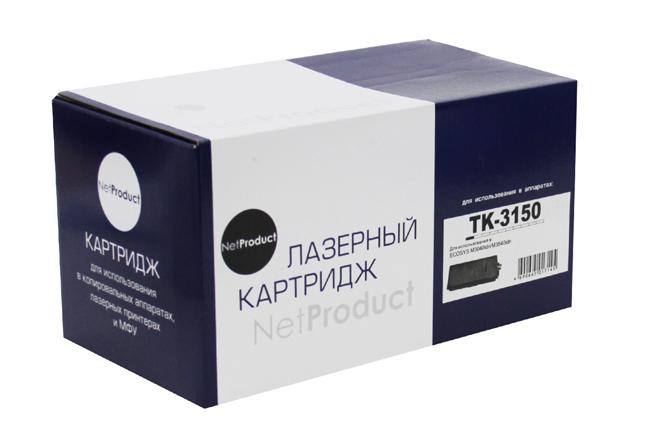 Тонер-картридж NetProduct (N-TK-3150) для Kyocera ECOSYSM3040idn/M3540idn, 14,5K