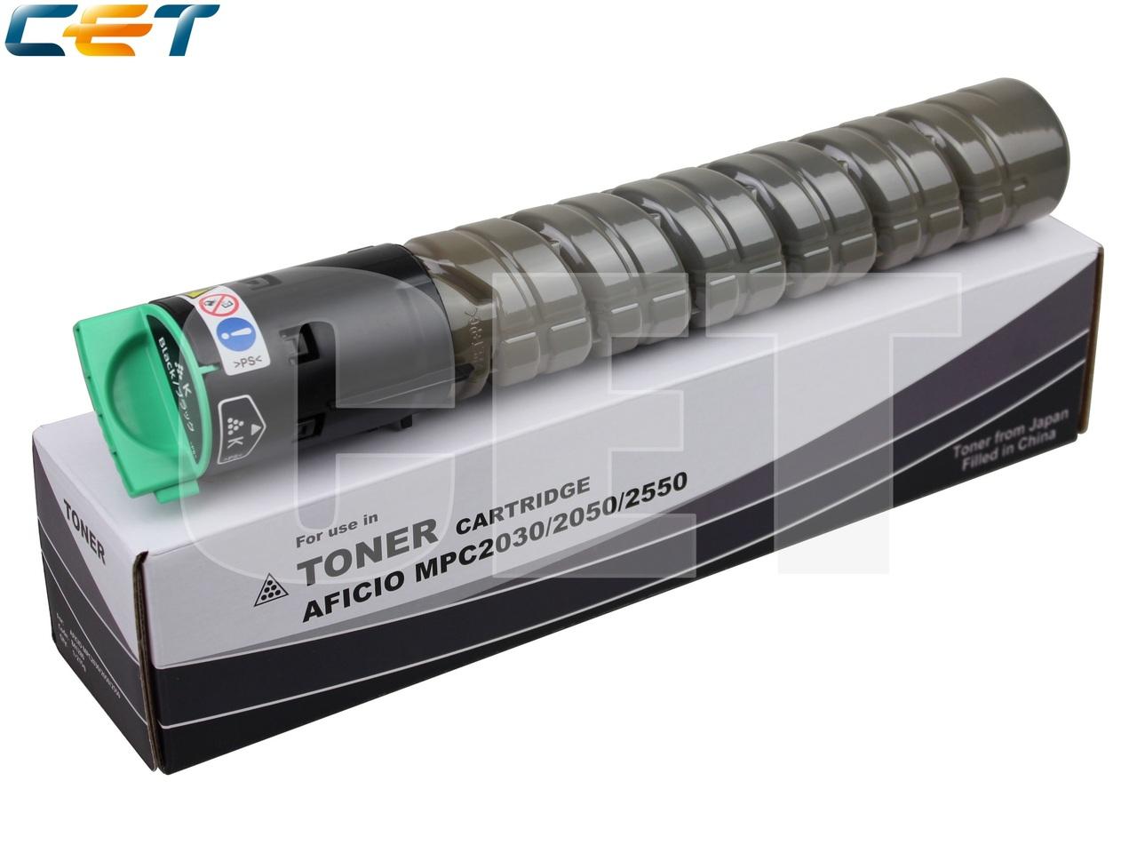 Тонер-картридж 841196, 841504 для RICOH AficioMPC2030/MPC2050/MPC2550/MPC2051/MPC2551 (CET) Black,215г, 10000 стр., CET6407