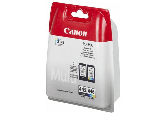 Набор картриджей Canon Pixma MG2440/2540 Multi PackPG-445+CL-446 (О) 8283B004