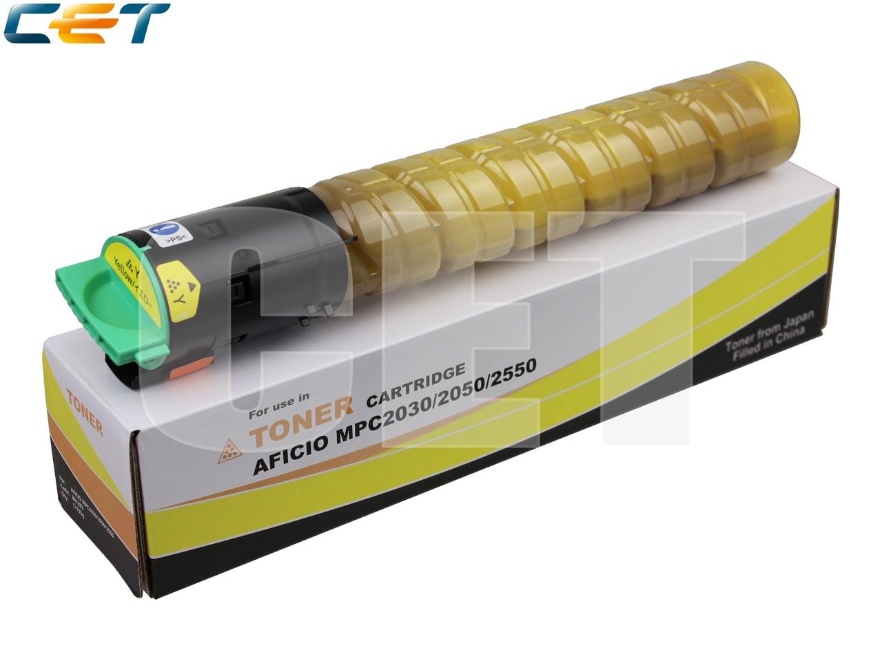 Тонер-картридж (Type 516) 841199 для RICOH AficioMPC2030/MPC2050/MPC2550/MPC2051/MPC2551 (CET) Yellow,135г, 5500 стр., CET6414