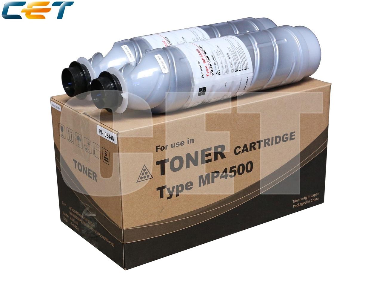 Тонер-картридж (SD3) 841347, 842077 для RICOH AficioMP4000/MP4001G/MP5001G/MP5000/MP4500/MP3500 (CET),630г, 30000 стр., CET6445