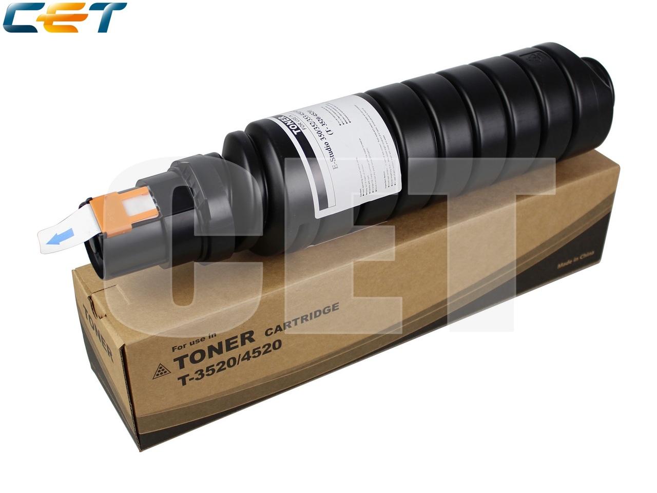 Тонер-картридж T-3520/4520 для TOSHIBA E-Studio 350 (CET),675г, 21000 стр., (унив.), CET7463