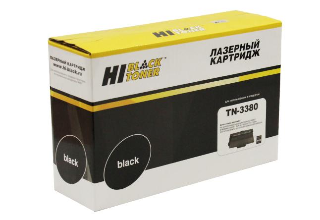 Тонер-картридж Hi-Black (HB-TN-3380) для BrotherHL-5440D/5450DN/DCP-8150DN, 8K