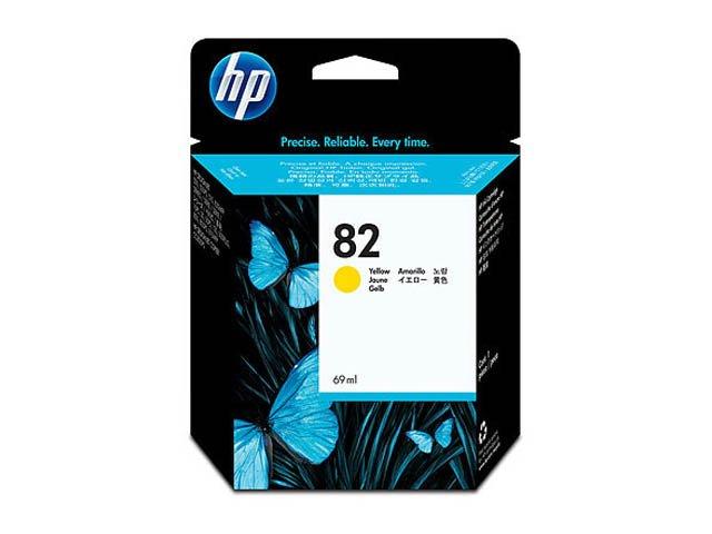 Картридж 82 для HP DJ 500/800, 69мл (O) C4913A, Y