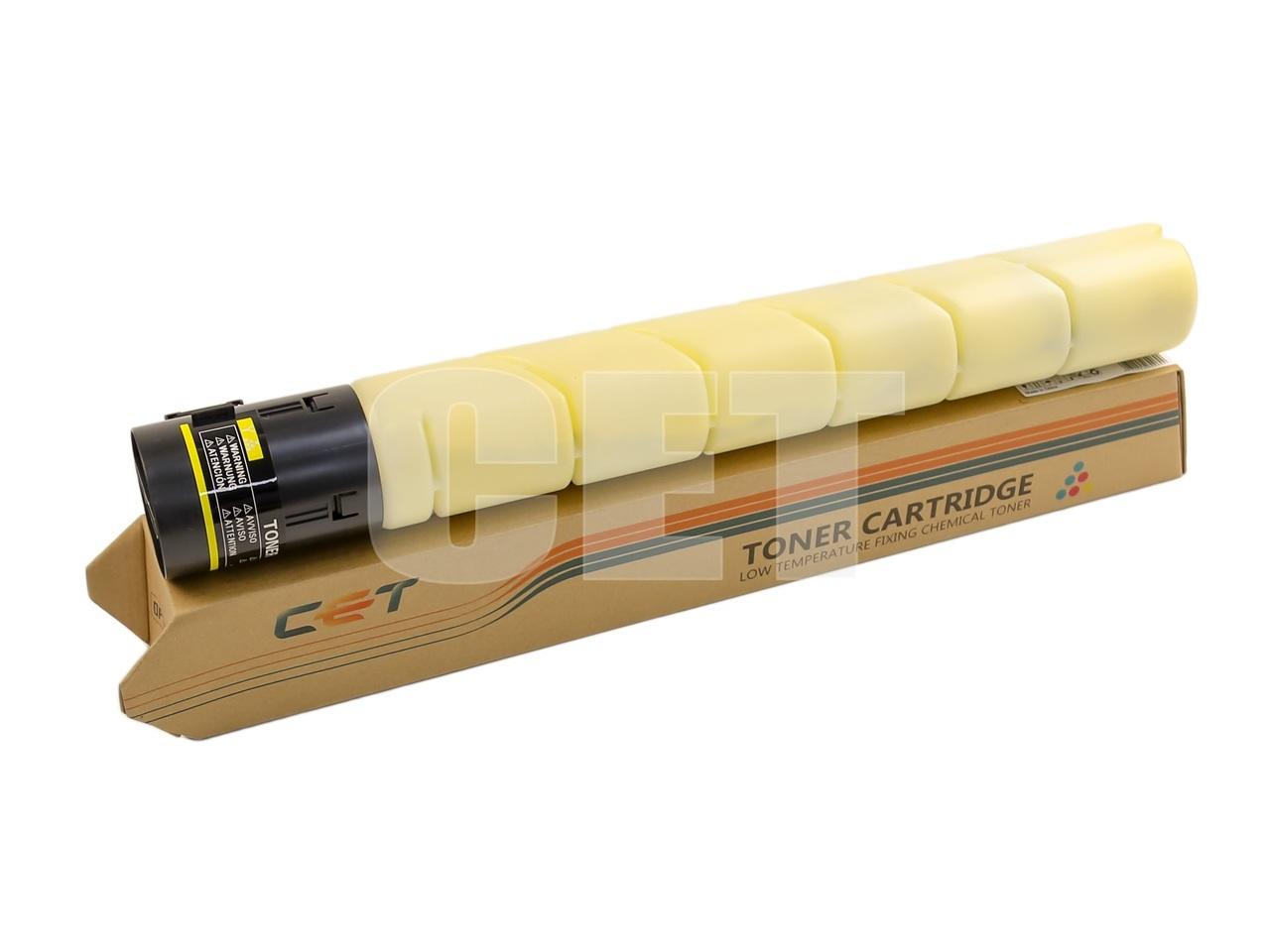 Тонер-картридж (CPT, CE38) TN-221Y для KONICA MINOLTABizhub C227/C287 (CET) Yellow, 467г, 21000 стр., CET7324