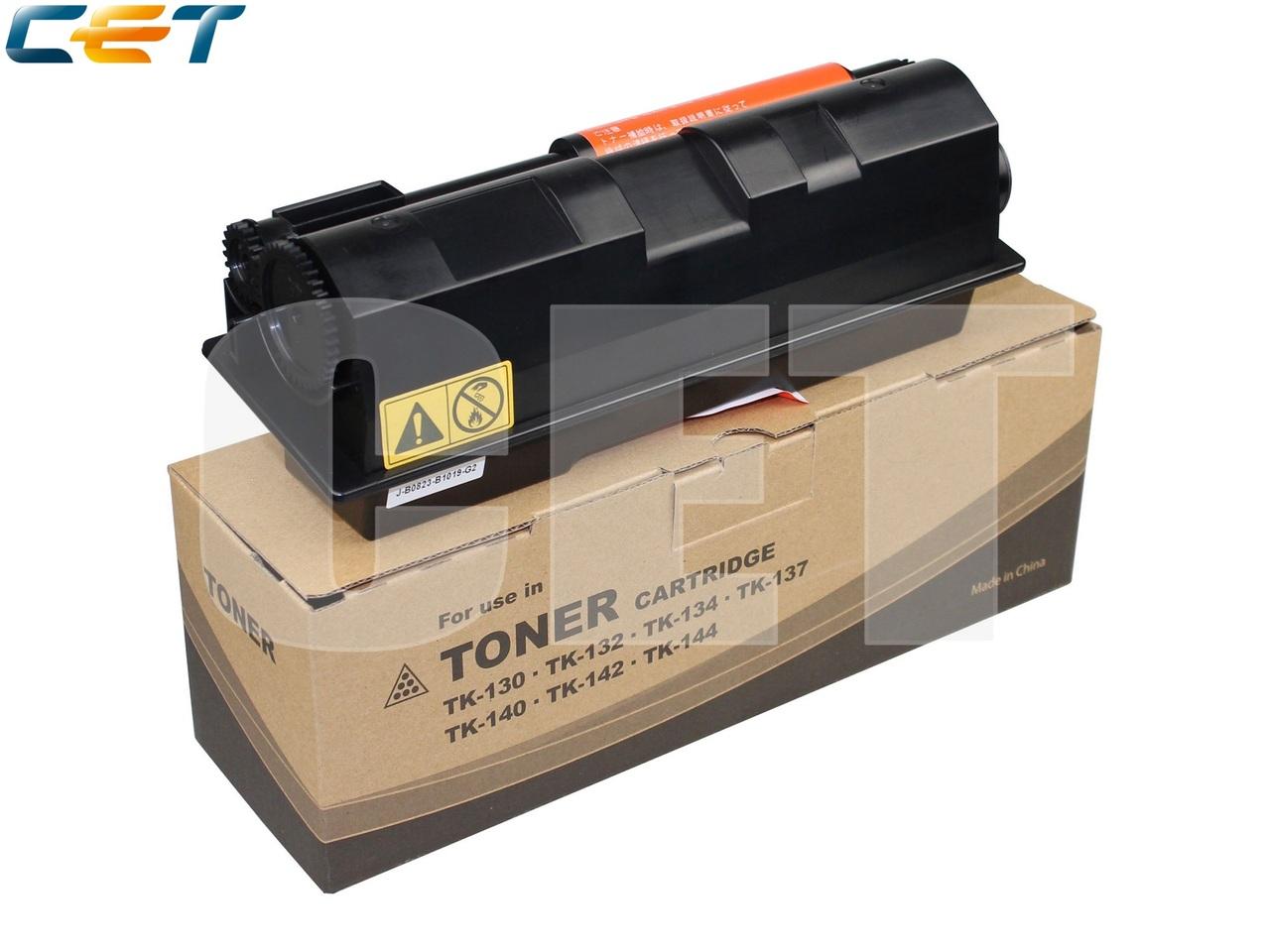 Тонер-картридж (PK2, без чипа) TK-130 для KYOCERAFS-1028MFP/1128MFP/1100/1300D (CET), 280г, 7200 стр.,CET8162