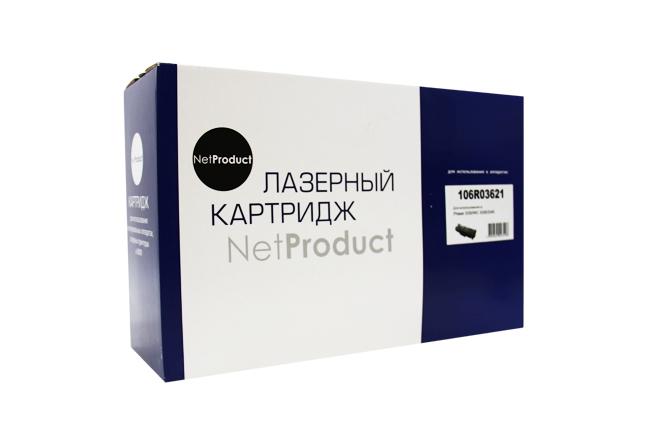 Тонер-картридж NetProduct (N-106R03621) для Xerox Phaser3330/WC 3335/3345, 8,5K