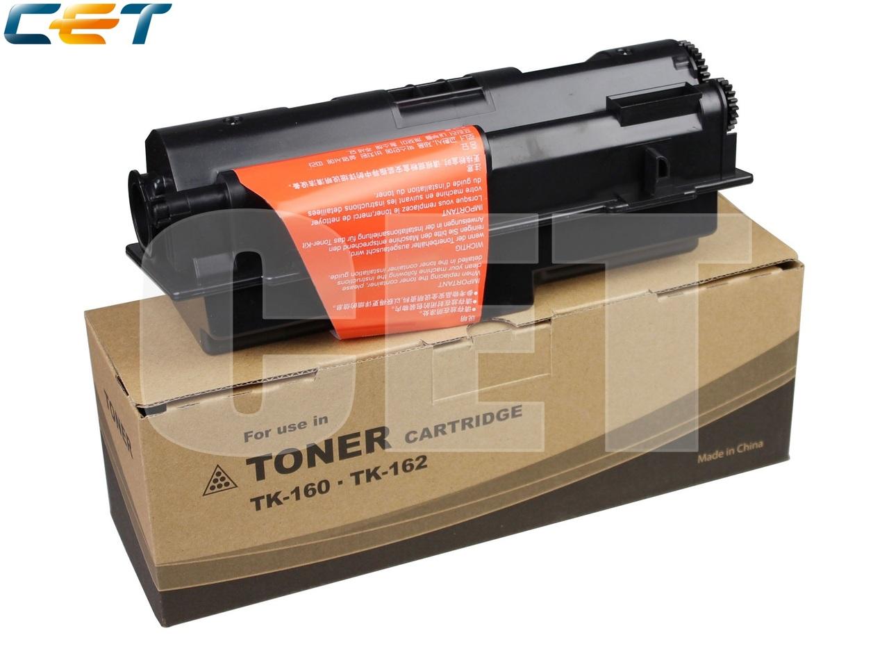 Тонер-картридж (PK2, без чипа) TK-160 для KYOCERAFS-1120D, ECOSYS P2035d (CET), 110г, 2500 стр., CET8173