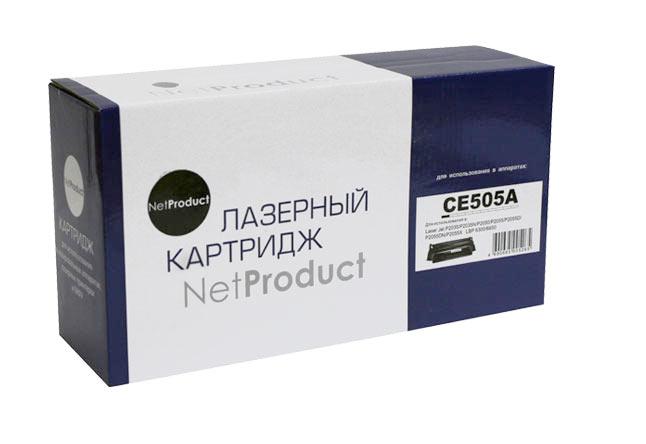 Картридж NetProduct (N-CE505A) для HP LJP2055/P2035/Canon №719, 2,3K