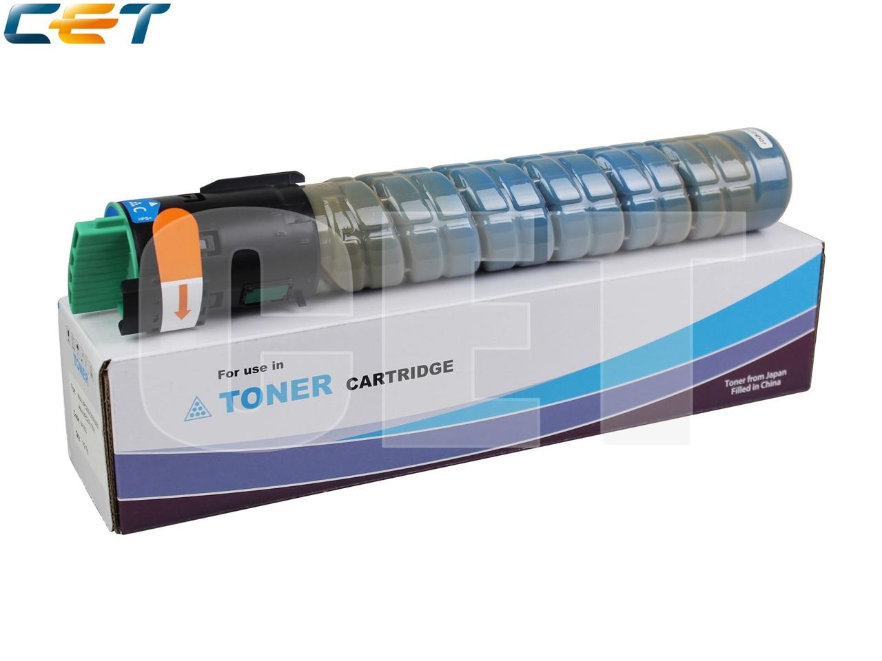 Тонер-картридж (Type 516) 841505 для RICOH AficioMPC2551/MPC2051/MPC2550/MPC2050/MPC2030 (CET) Cyan,215г, 9500 стр., CET6461