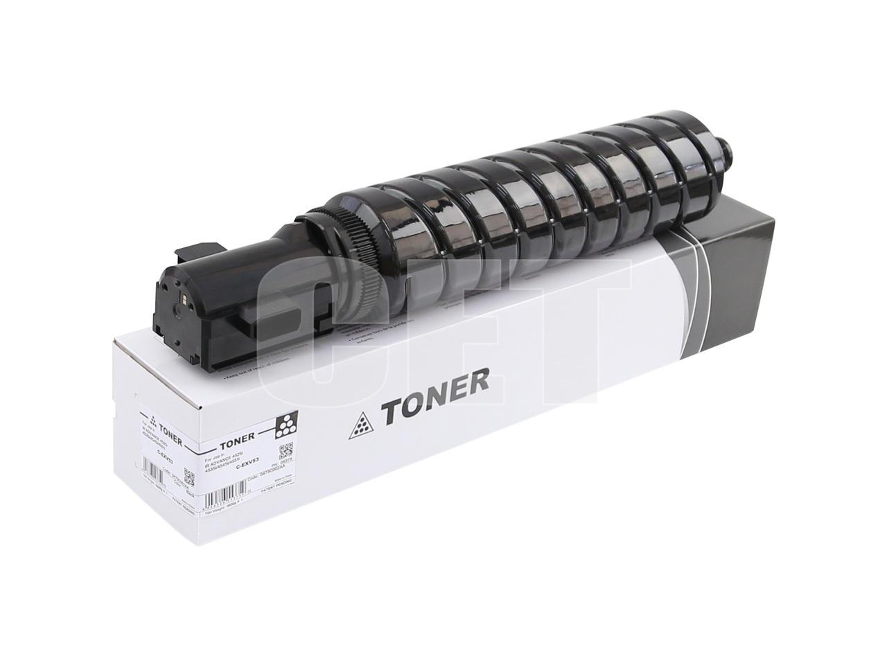 Тонер-картридж (CPP) C-EXV53 для CANON iR ADVANCE4525i/4535i/4545i/4551i (CET), 1747г, 42100 стр., CET5375