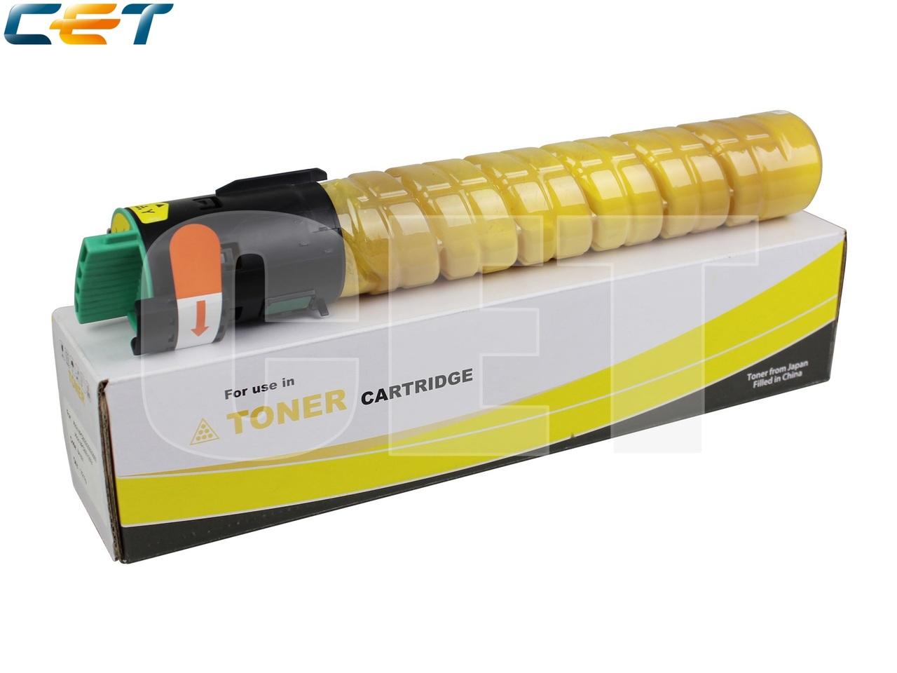 Тонер-картридж (Type 516) 841507 для RICOH AficioMPC2551/MPC2051/MPC2550/MPC2050/MPC2030 (CET) Yellow,215г, 9500 стр., CET6463