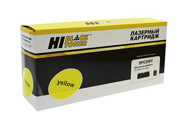 Картридж Hi-Black (HB-SPC250Y) для Ricoh Aficio SPC250DN/C250SF/C260/C260/C261SF, Y, 1,6K