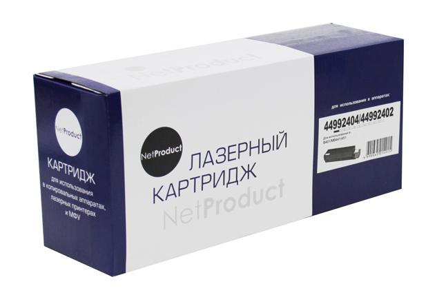 Тонер-картридж NetProduct (N-44992404/44992402) для OKIB401/MB441/451, 2,5K