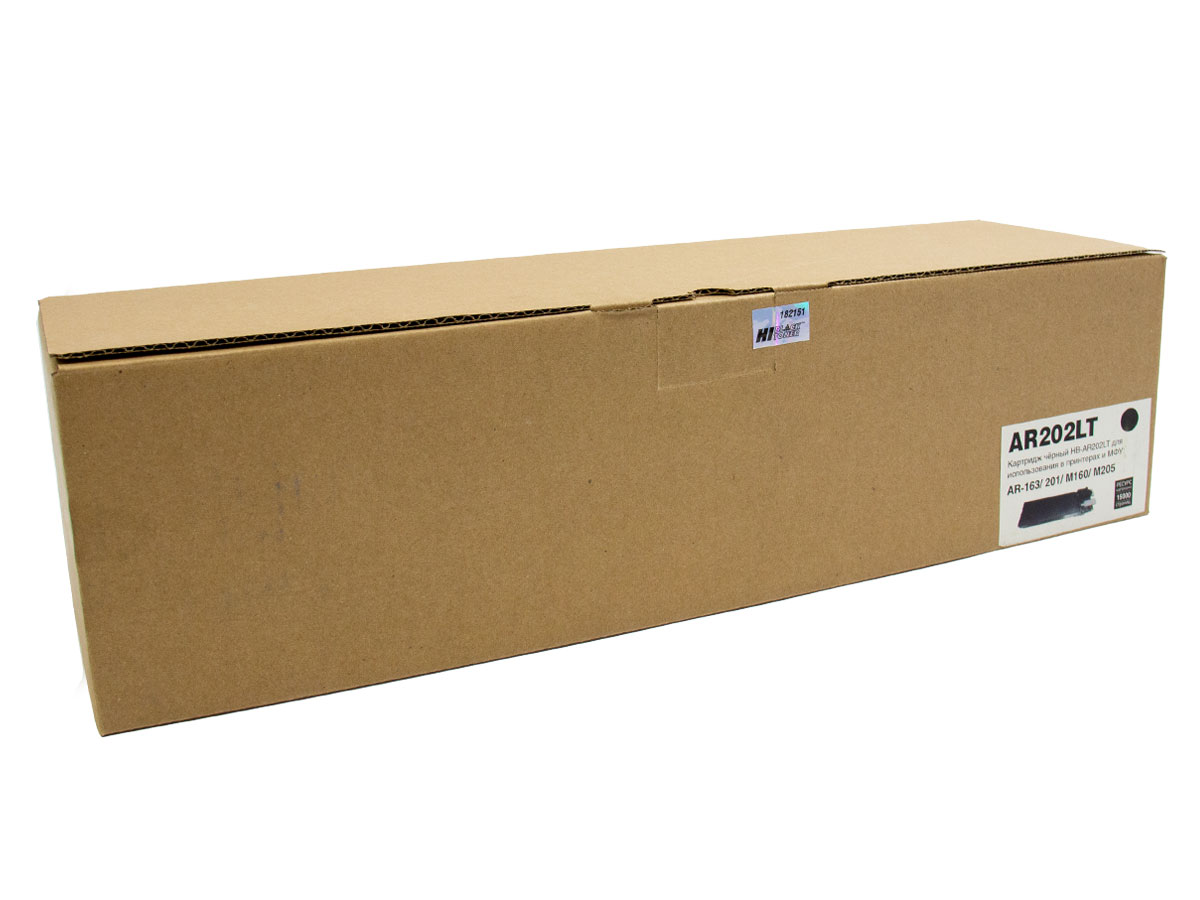 Тонер-картридж Hi-Black (HB-AR202LT) для SharpAR-163/201/M160/M205, 16К