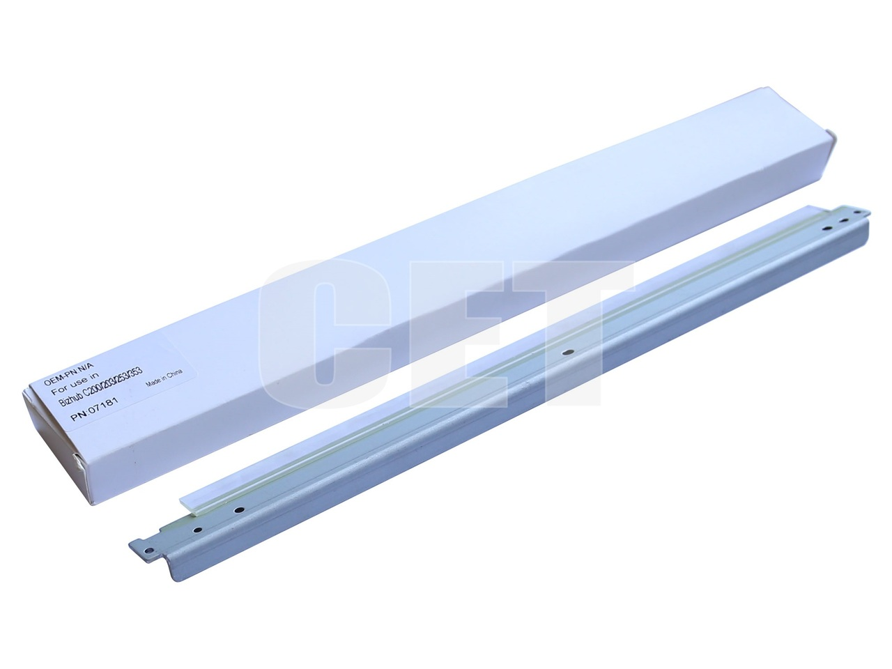 Лезвие очистки ленты переноса для KONICA MINOLTA BizhubC200/C203/C253/C353 (CET), CET7181
