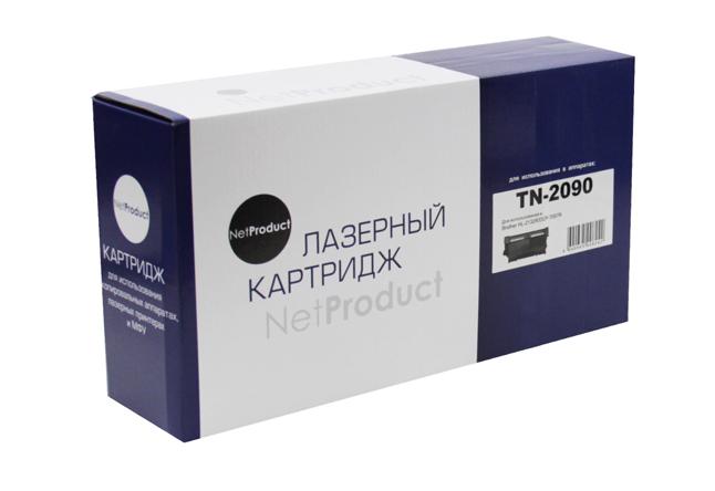 Тонер-картридж NetProduct (N-TN-2090) для BrotherHL-2132R/DCP-7057R, 1,2K