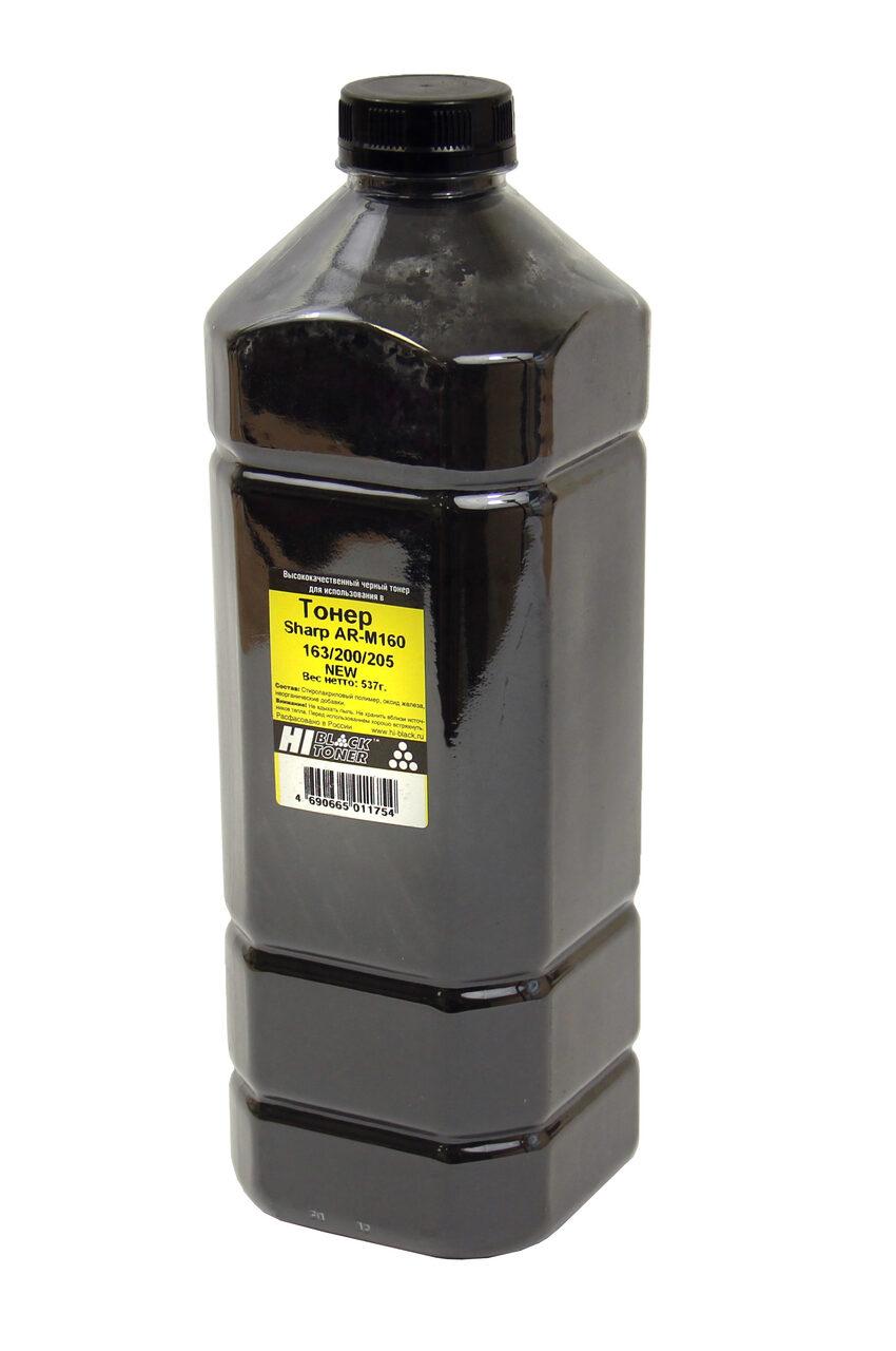 Тонер Hi-Black для Sharp AR-M160/163/200/205, Bk, 537 г,канистра