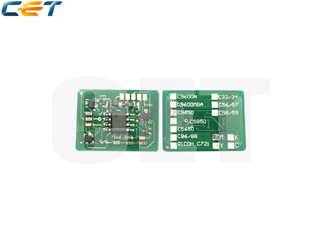 Чип картриджа 43865705, 43872306, 43872307, 43865708,43872305 для OKI C5650/C5750 (CET) CMYK, (AP/EUR),(унив.), 8K/2K, CET1160