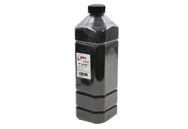 Тонер Imex для HP LJ, Тип MGi-3 (фасовка Россия) Bk, 1 кг,канистра