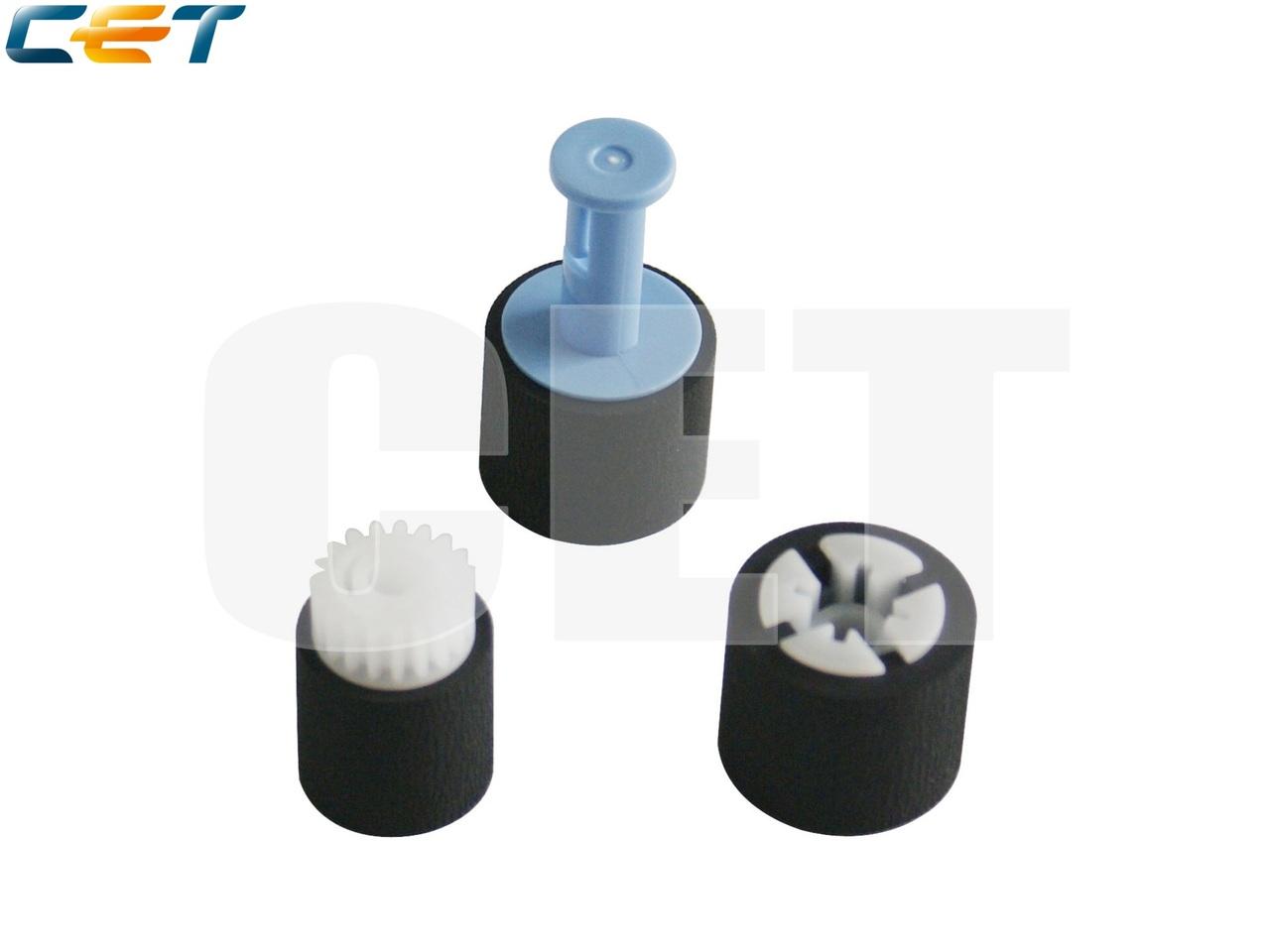 Комплект роликов 1-го лотка (3 ролика) CB506-67905 дляLaserJet P4014/P4015/P4515,M601/M602/M603/M604/M605/M606 (CET), CET5804