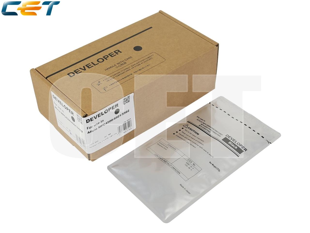 Девелопер для RICOH Aficio MPC4500/4501/5502 (CET) Black,225г, 160000 стр., CET8892K