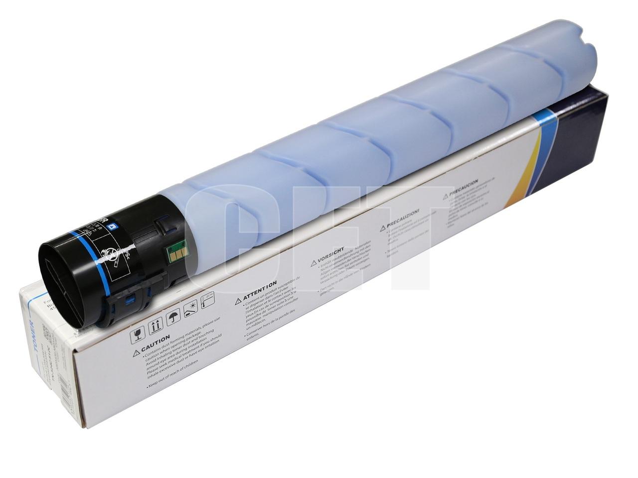 Тонер-картридж (CPT) TN-512C для KONICA MINOLTA BizhubC454/554/454e/554e (CET) Cyan, 514г, 26000 стр., CET141255