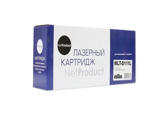 Картридж NetProduct (N-MLT-D111L) для SamsungSL-M2020/2020W/2070/2070W, 1,8K (новая прошивка)