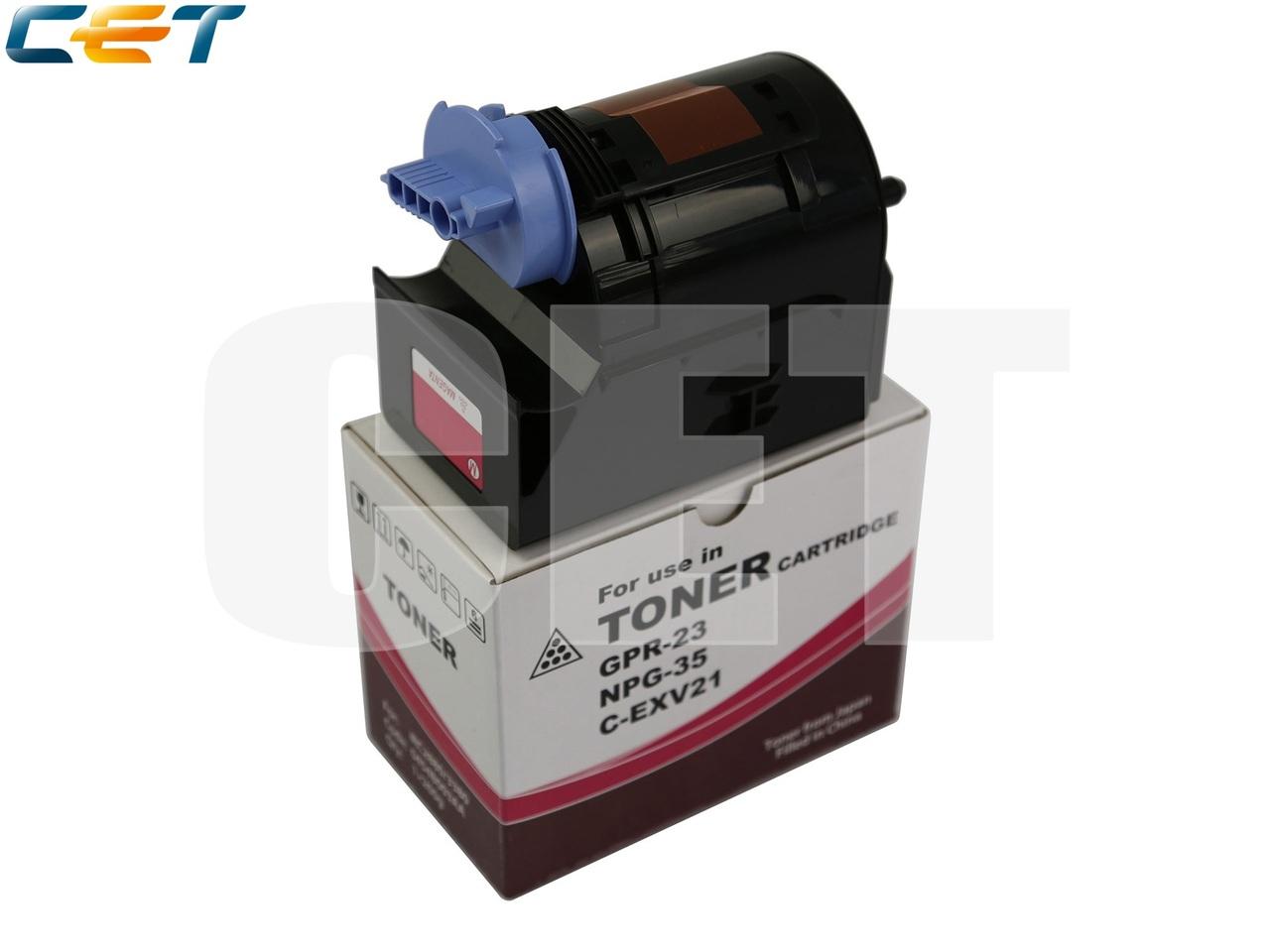 Тонер-картридж C-EXV21 для CANON iRC2880/C3380 (CET)Magenta, 260г, 14000 стр., CET6570