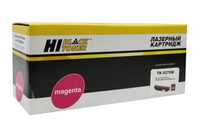 Тонер-картридж Hi-Black (HB-TK-5270M) для KyoceraM6230cidn/M6630/P6230cdn, M, 6K