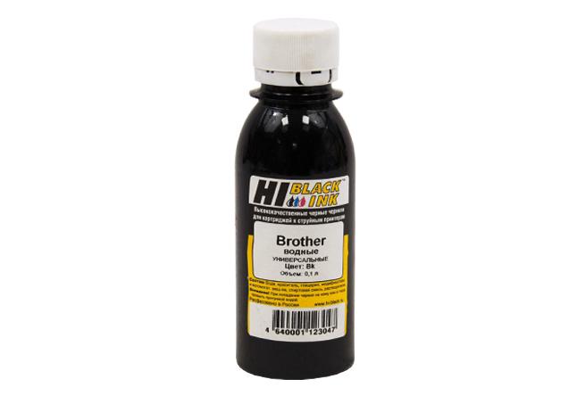 Чернила Hi-Black Универсальные для Brother (Тип B), Bk, 0,1 л.