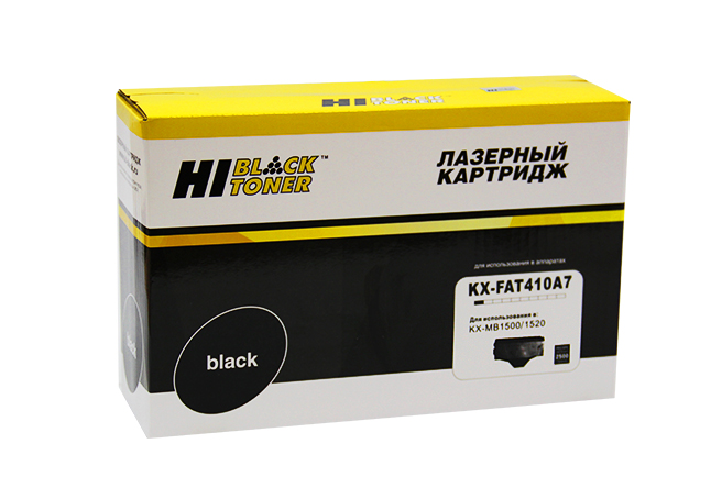 Картридж Hi-Black (HB-KX-FAT410A7) для PanasonicKX-MB1500/1520, 2,5K