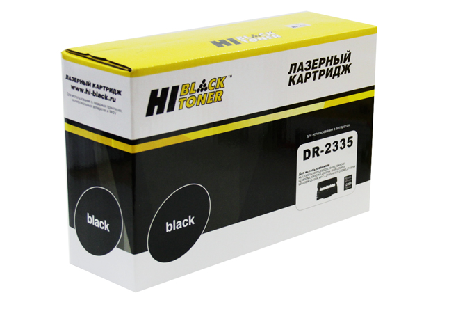 Драм-юнит Hi-Black (HB-DR-2335) для BrotherHL-L2300DR/DCP-L2500DR/MFC-L2700DWR, 12K