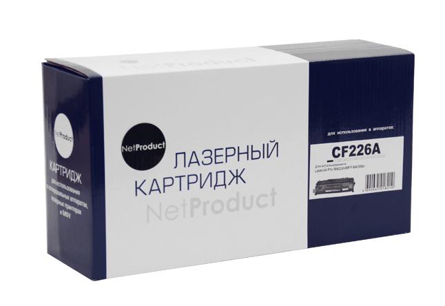 Картридж NetProduct (N-CF226A/CRG-052) для HP LJ ProM402/M426/LBP-212dw/214dw, 3,1K