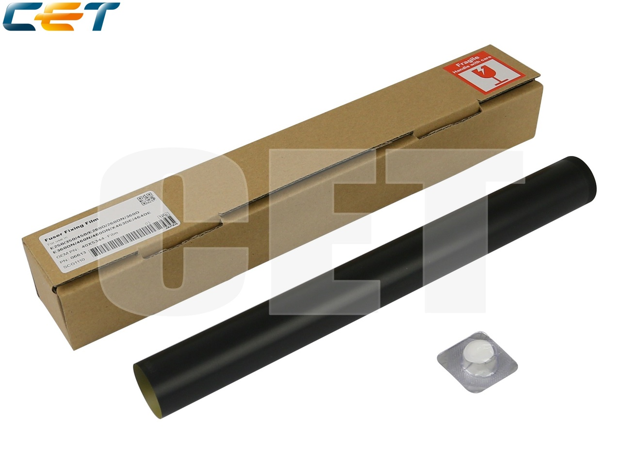 Термопленка 40X5344 для LEXMARKE250/350/450/260DN/360DN/460DN/X463DE/464DE X466DE(CET), CET6613