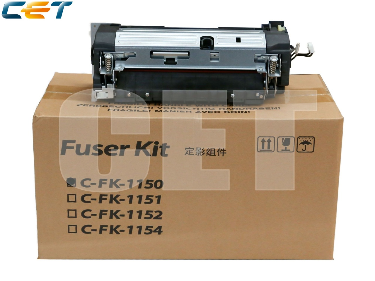 Фьюзер (печка) в сборе FK-1150 для KYOCERA ECOSYSM2040dn/2135dn/2635dn/2540dn/2640idw/2735dw (CET),CET421002