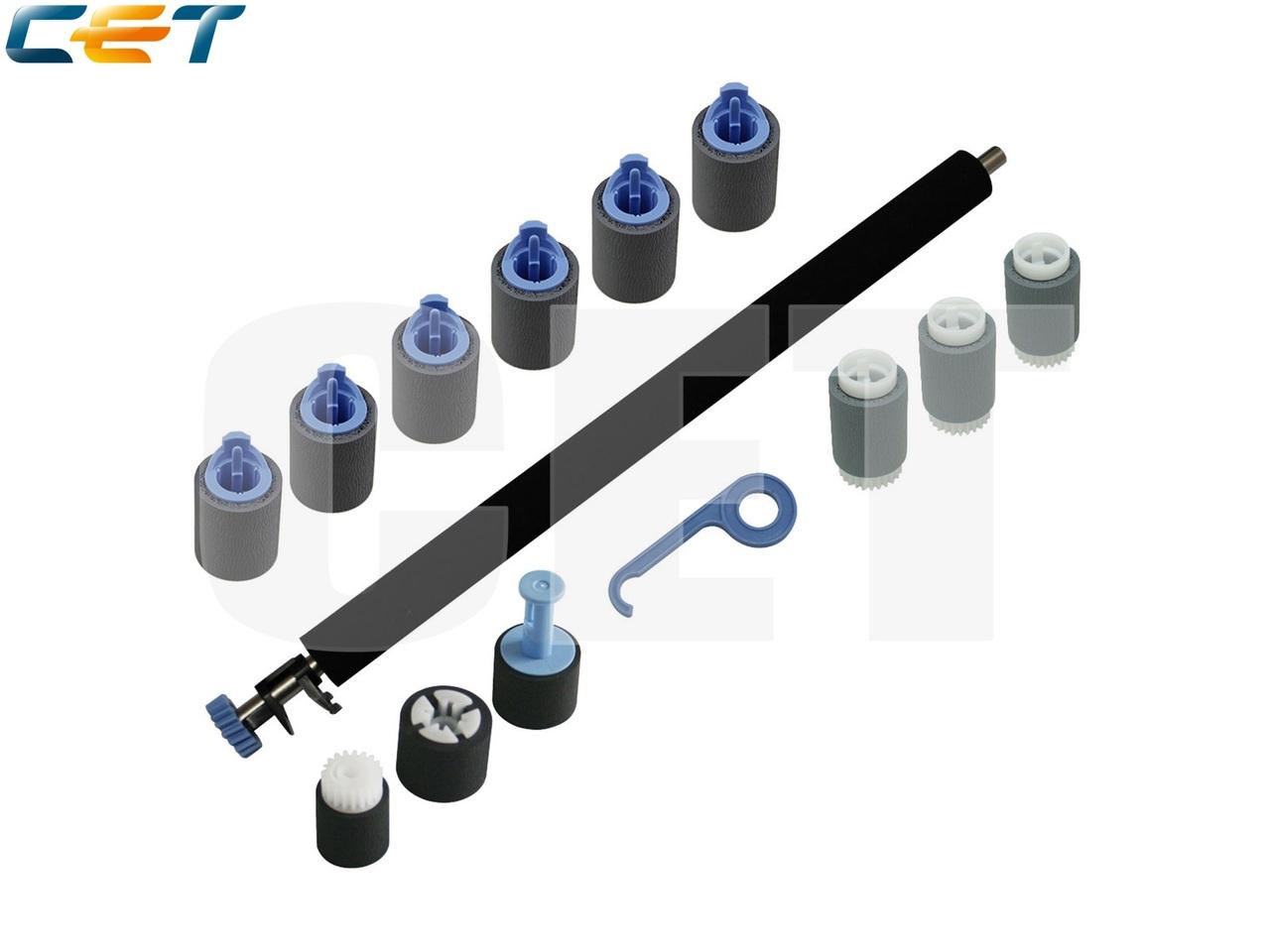 Комплект роликов RM1-5462 (1 шт.), RM1-0036 (3 шт.),RM1-0037 (6 шт.), CB506-67905 (1 шт.) для LaserJetP4014/P4015/P4515, M601/M602/M603 (CET), CET5813A